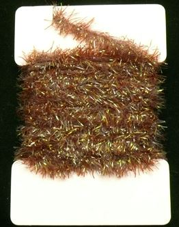 Krystal  Chenille 15 mm Brown 1m
