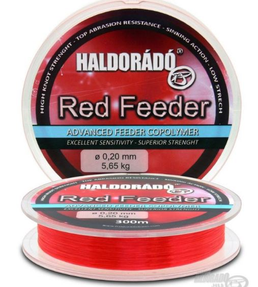 HALDORÁDÓ RED FEEDER 0,25MM / 300M - 7,52 KG