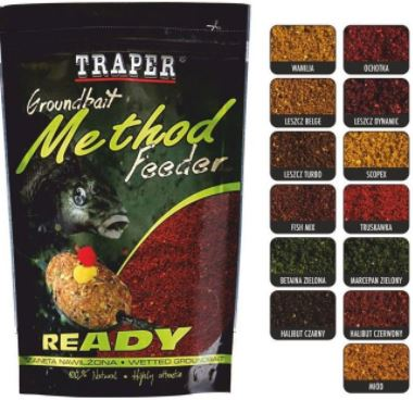 Traper-Method Feeder Ready-Černý Halibut