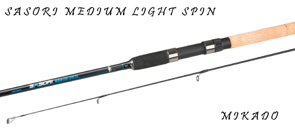 MIKADO-VLÁČECÍ PRUT SASORI MEDIUM LIGHT SPIN 240cm/5-25g
