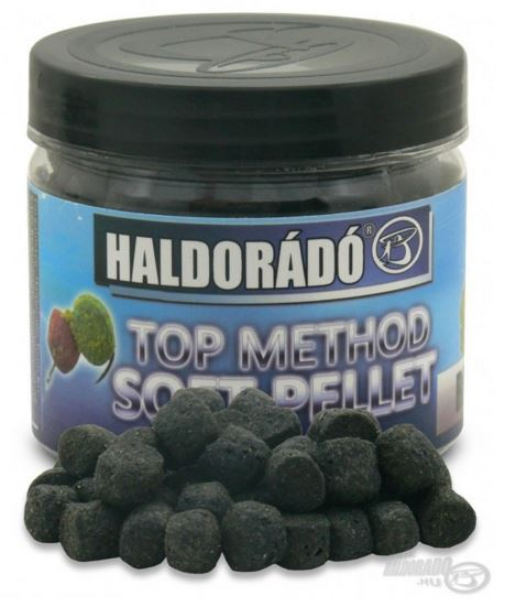 HALDORÁDÓ TOP METHOD SOFT PELLET BLACK SQUID (ČIERNY KALMÁR)