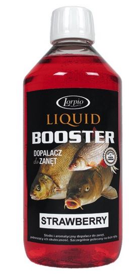 Lorpio - Liquid Booster 500ml Jahoda