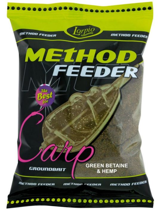 Lorpio-Method feeder green betain - hemp 700g