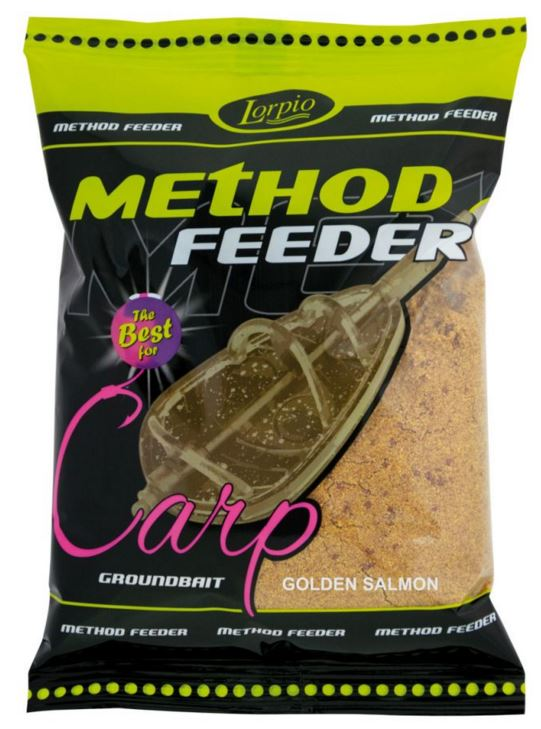 Lorpio-Method feeder feeder golden salmon Lorpio-Method feeder Red Krill 700g