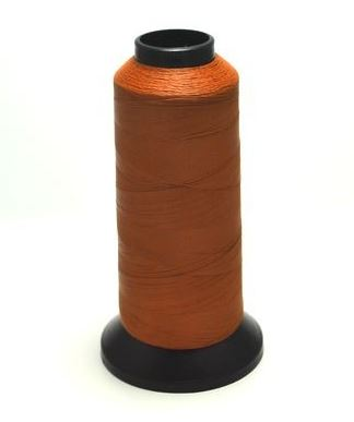 PacBay-STAY TRUE THREAD 50 M SPOOL - BROWN