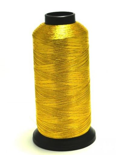 PacBay-METALLIC 50 M SPOOL - OLD GOLD