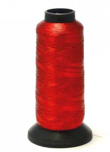PacBay-METALLIC 50 M SPOOL - RED