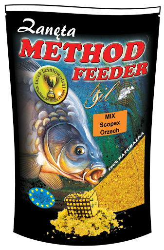 Stil-Vnadící směs Method Feeder 1kg Mix Scopex-Ořech