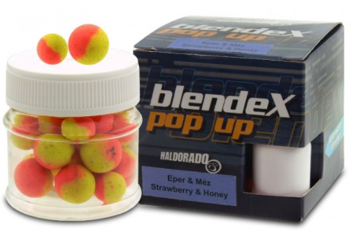 HALDORÁDÓ BLENDEX POP UP BIG CARP 12,14 MM - JAHODA A MED