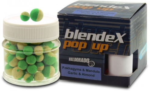 HALDORÁDÓ BLENDEX POP UP METHOD 8, 10 MM - ČESNEK - MANDLE
