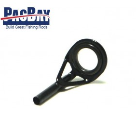 PacBay-OČKO BLACK L TOP HIALOY RING 6