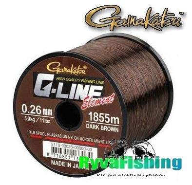 Gamakatsu G-Line Element 0,30mm - 1325m