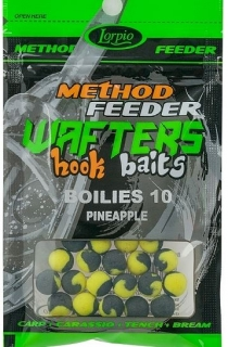 LORPIO-WAFTERS HOOK BAITS  BOILIES  PINEAPPLE 10