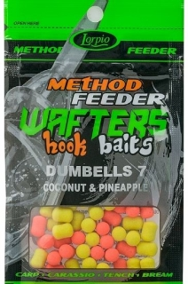 LORPIO-WAFTERS HOOK BAITS  DUMBELLS  COCONUT & PINEAPPLE