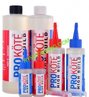 PROKOTE HIGH BUILD ROD FINISH 2x30ML.