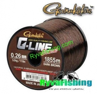 Gamakatsu G-Line Element 0,26 mm -1855m