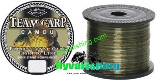Vlasec Konger Team Carp 0,25 mm - 1000 m